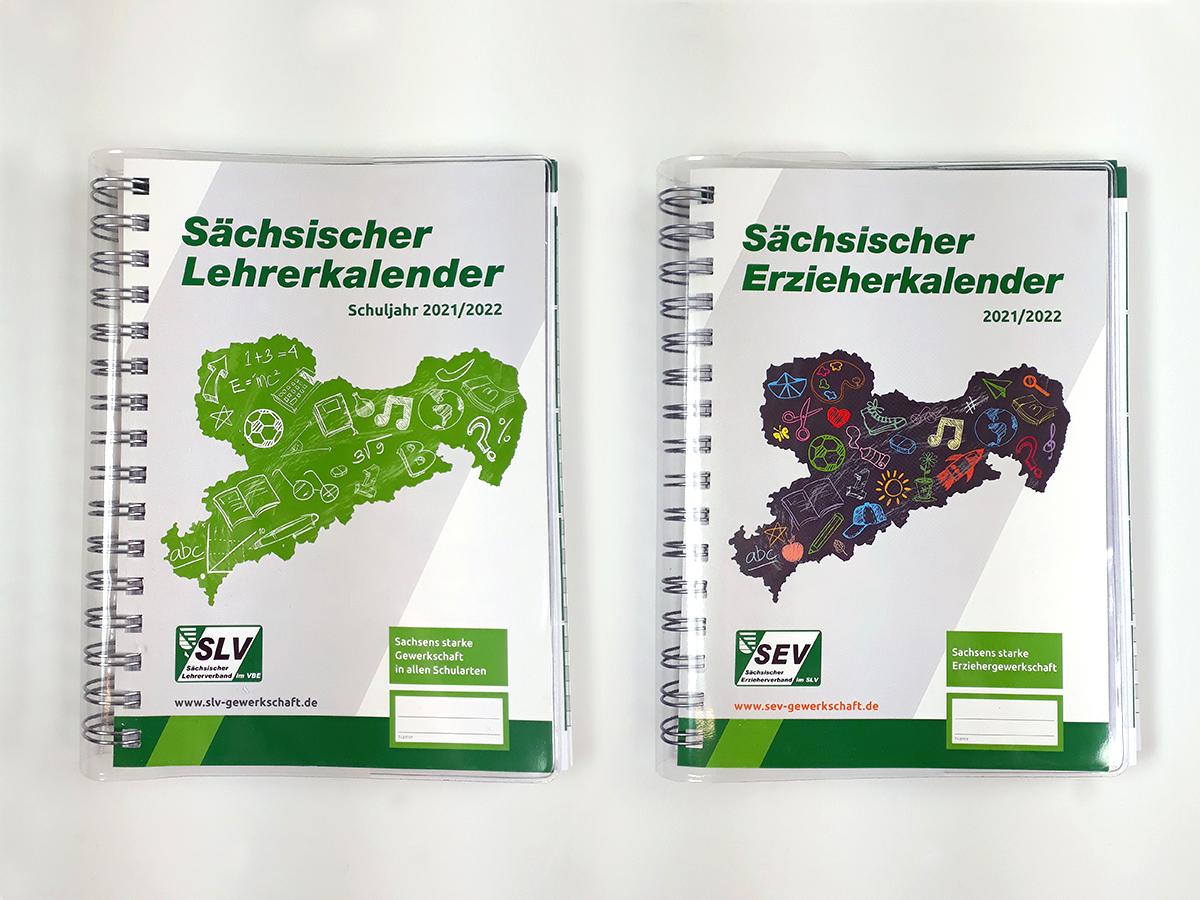 Kalender für die Sächsischen Lehrer und Erzieher Bild 02